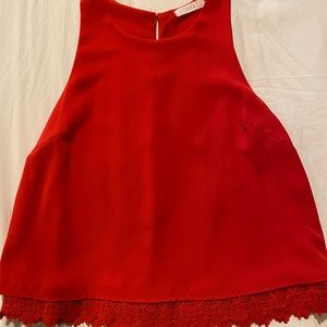 LIKE NEW Red Lush Top